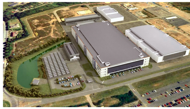 Next Generation Data Center Aerial View