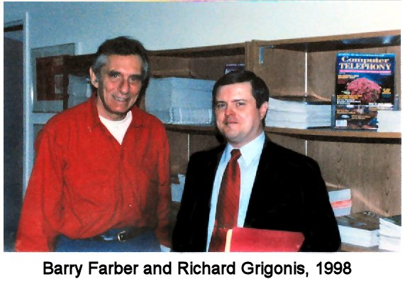 Barry Farber and Richard Grigonis