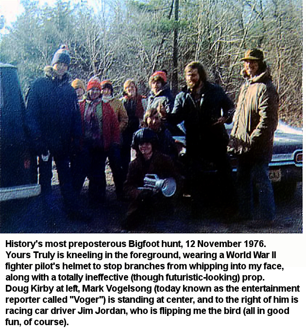 Bigfoot Hunt Group Photo