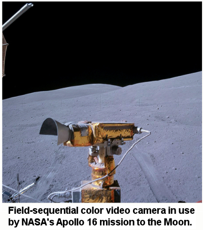 color camera on Moon